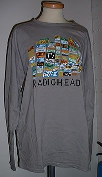 2eaec71846a7 Radiohead Hail To The Thief - Grey, Long Sleeved - Large US Promo t ...