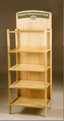 Wooden Display Permanent Display Rack Store Fixtures Design Supermarket Design Display Shelves