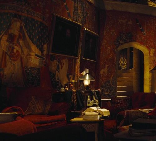 Hogwarts Houses Common Rooms Gryffindor Hogwarts