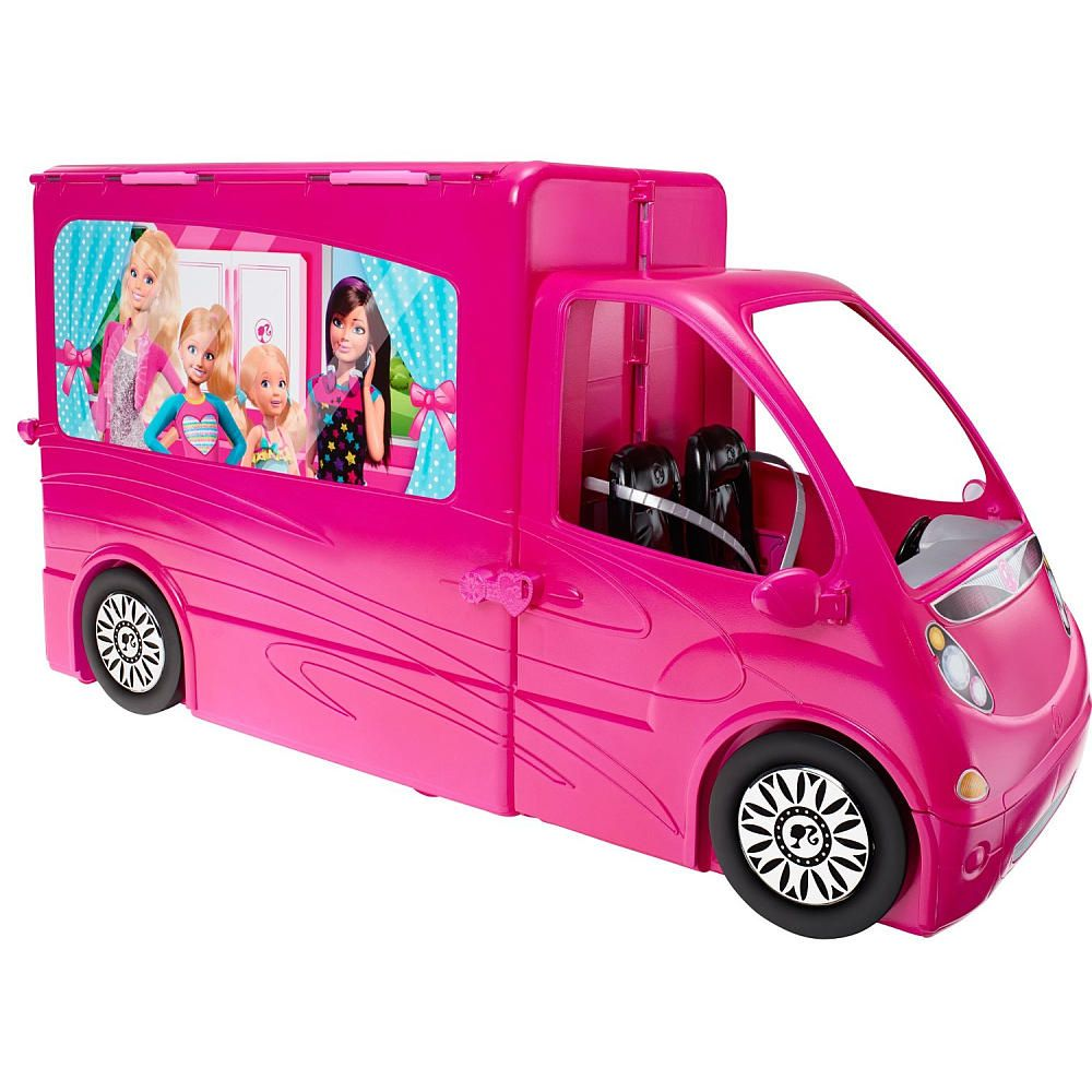 Barbie Sisters Life In The Dreamhouse Camper Mattel