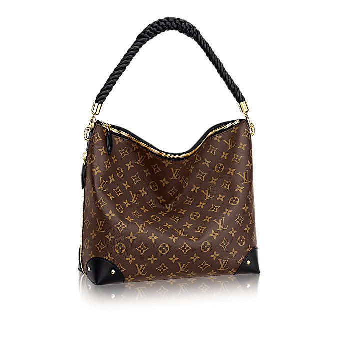 Triangle Softy Monogram Reverse Canvas in Women's Handbags collections by Louis  Vuitton