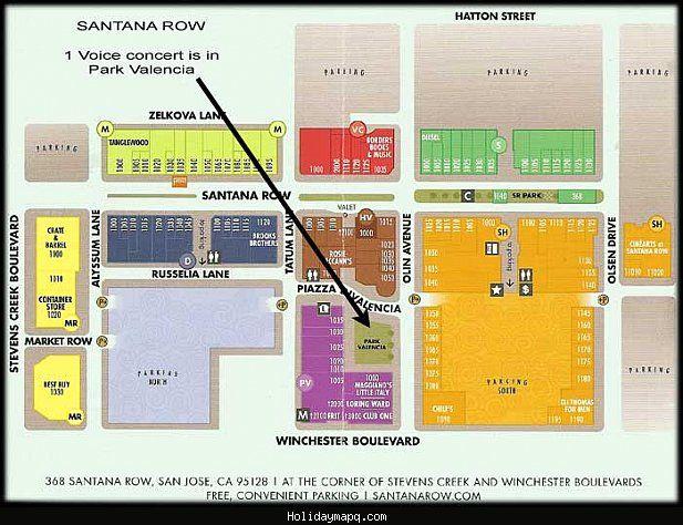 Santana Row Map nice Map of Santana | Holidaymapq | Space gallery, Map, Video wall