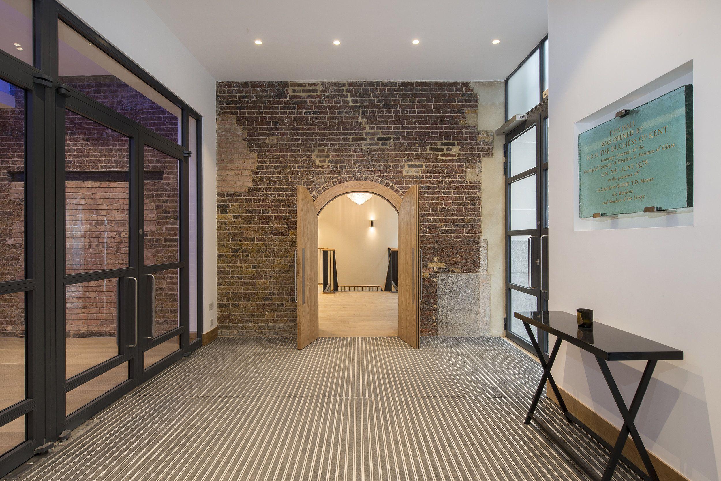 Entrance foyer | Entrance foyer, Entrance, Room divider