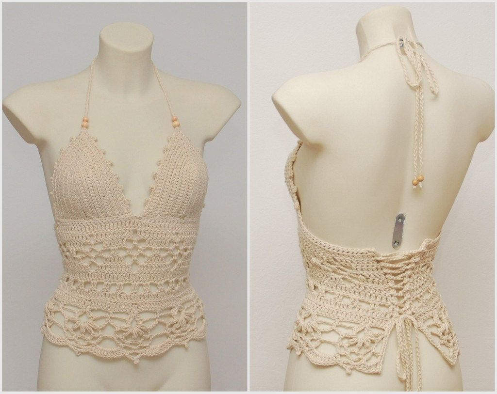 long crochet festival top | Camisetas | Pinterest | Camisetas