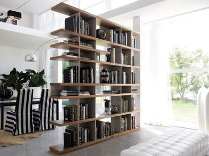 CHARLOTTE | Open divider bookcase | Ideas for the House | Pinterest ...
