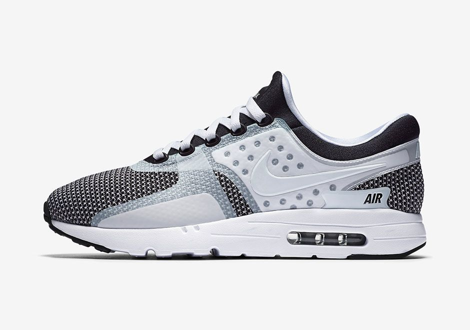 Nike Is Dropping a Clean White/Black Colorway of the Air Max Zero