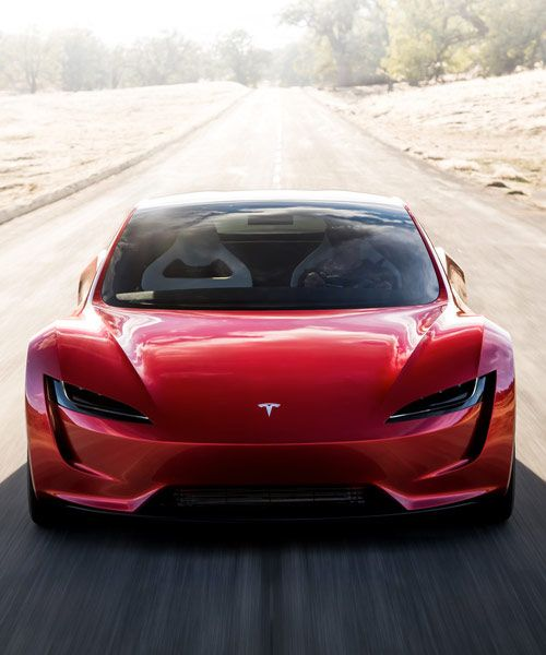 Tesla Roadster Electric Supercar Races To A Top Speed Over