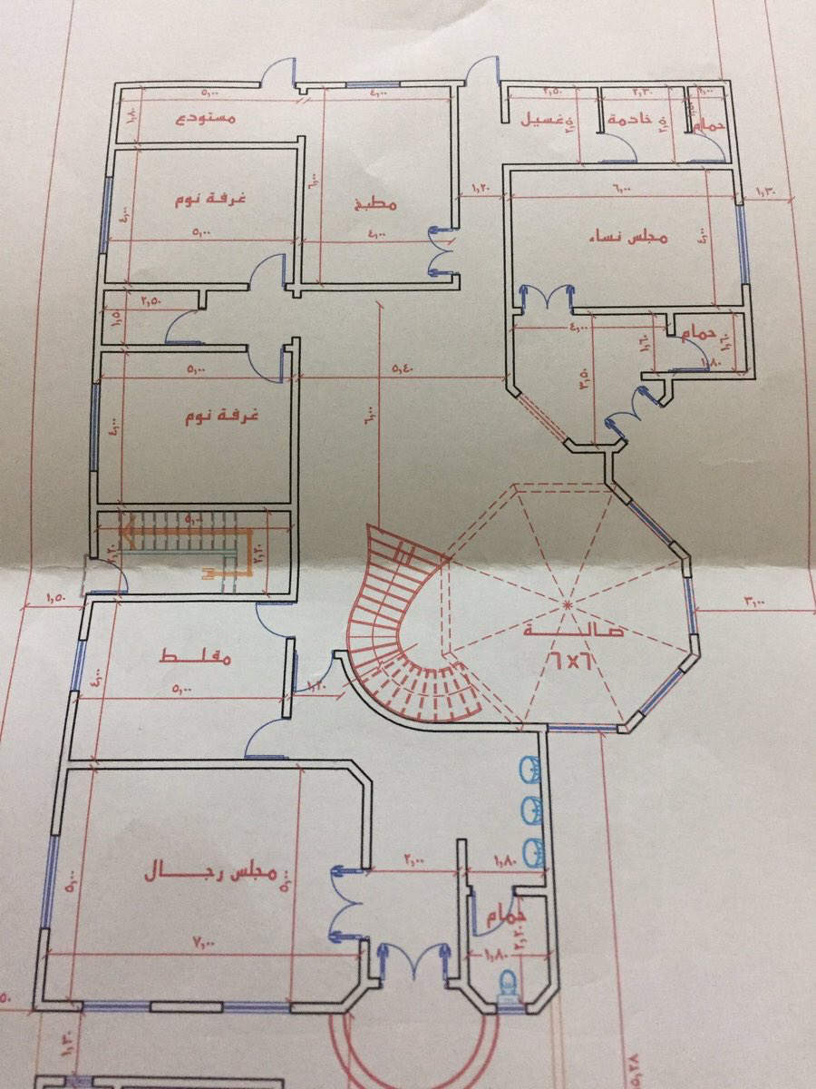 Pin By مرحبا السلام On Houses Plans Model House Plan My House Plans Family House Plans