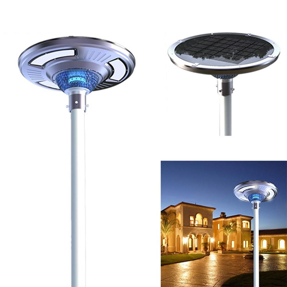 Eleding Solar Power Smart Motion Sensing Led Round Post
