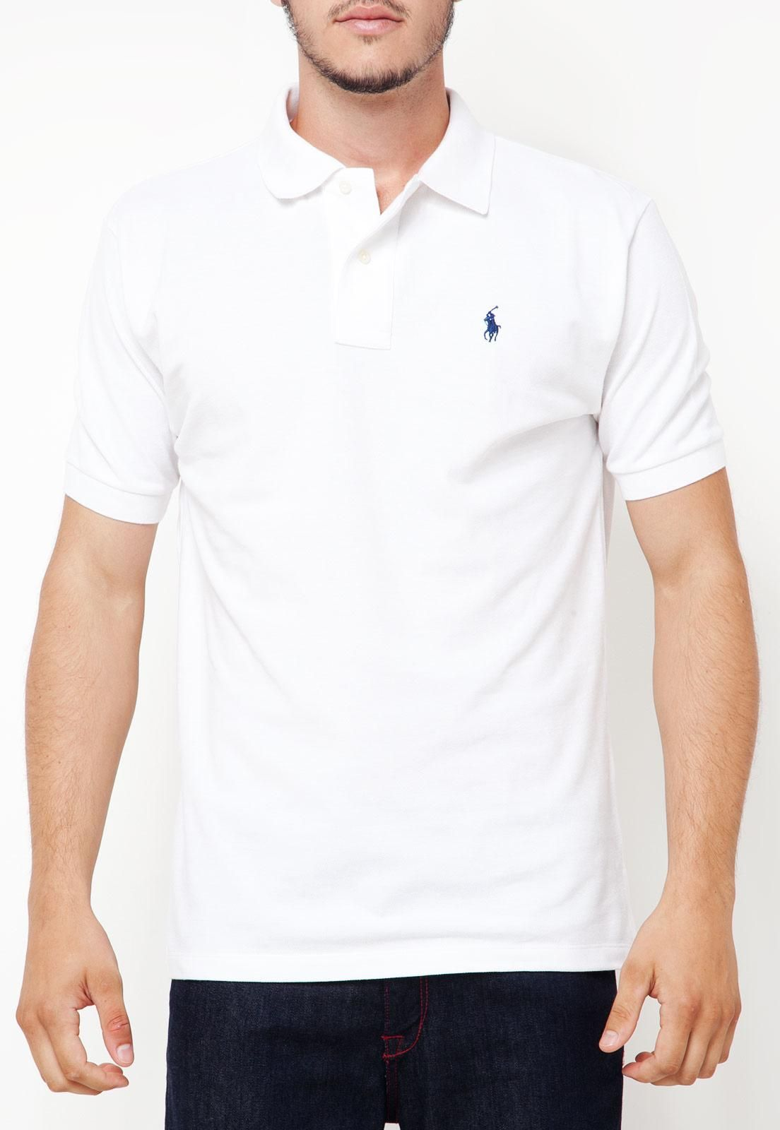 00e422b486 Camisetas Polo Lisas Multimarcas Masculinas Réplicas