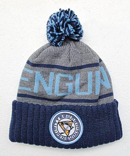 baseball caps wholesale australia canada penguins dark blue on grey knit beanie cap hat for babies uk
