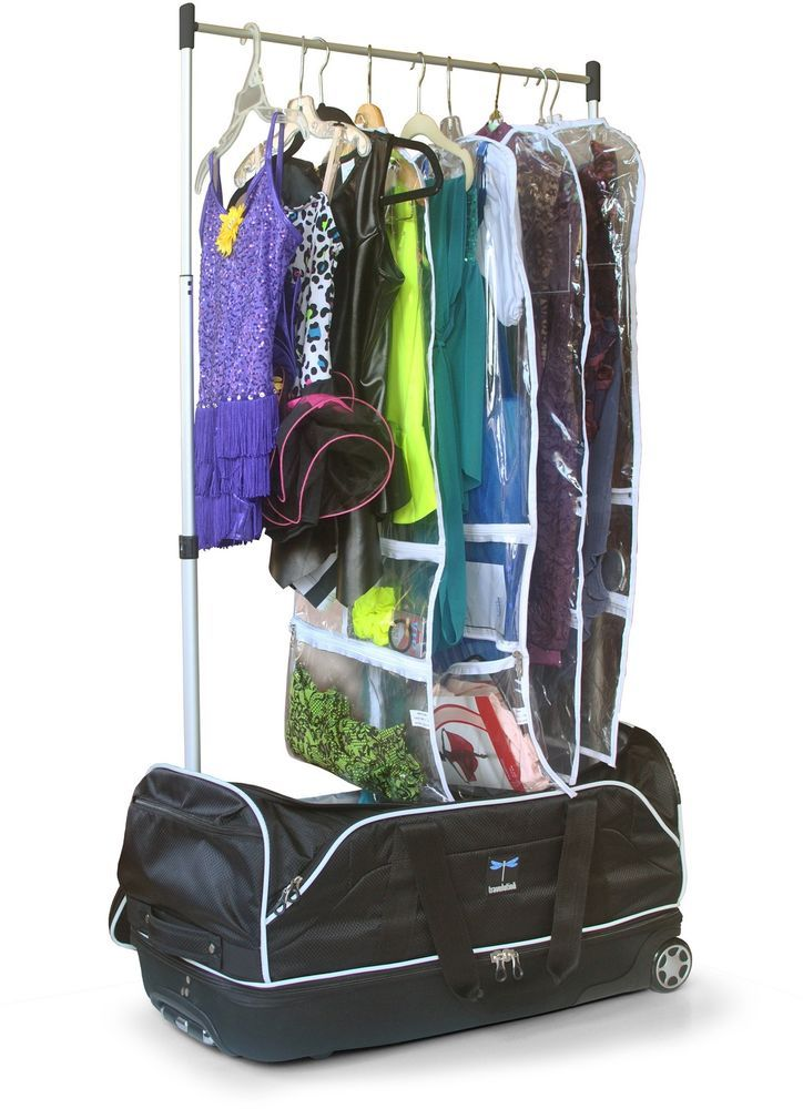 Dance Bag With Garment Rack Magnificent Dance Bag With Garment Rack Teen Wheeled Duffle Collapsible Costume Inspiration
