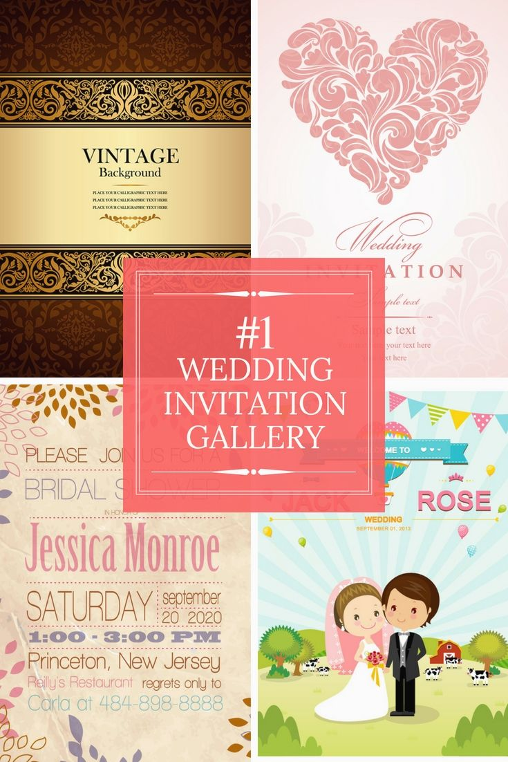 Fully Free Wedding Invitation Cards Examples - Begin Arranging Your ...