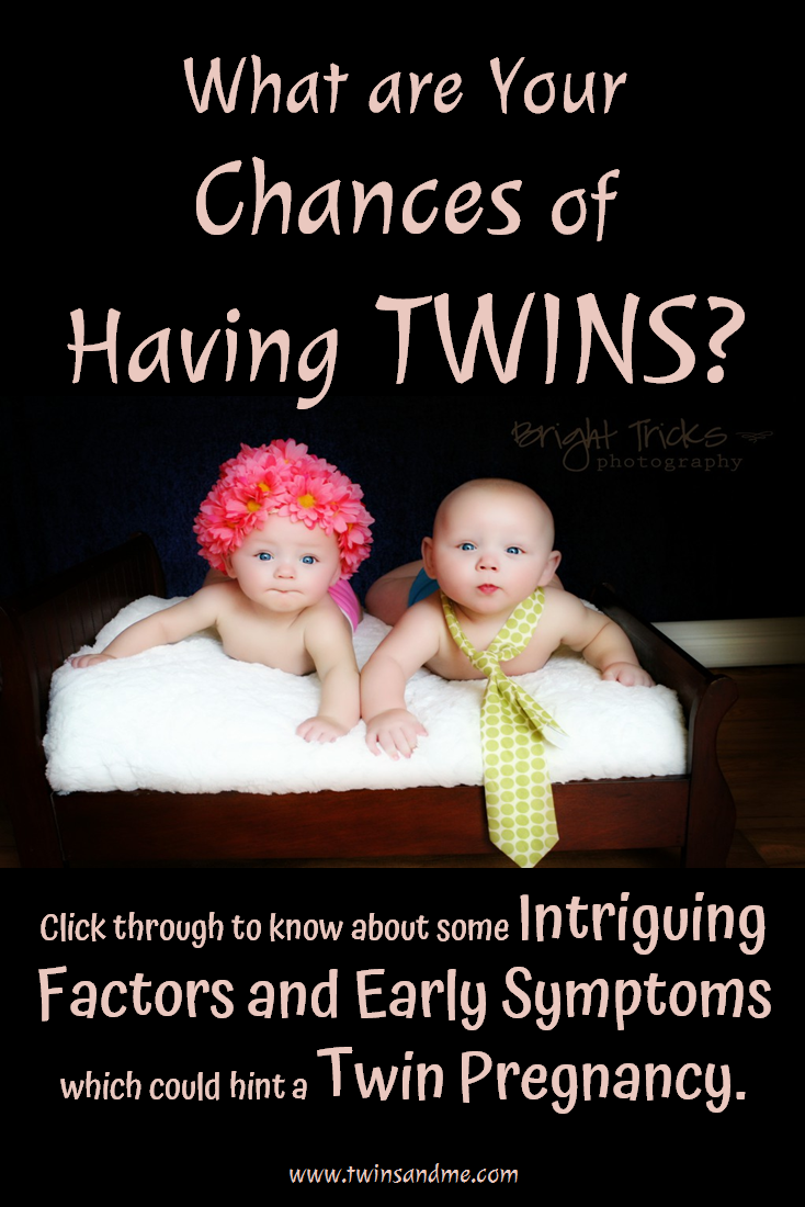 I want twins What is the probability of becoming pregnant twins