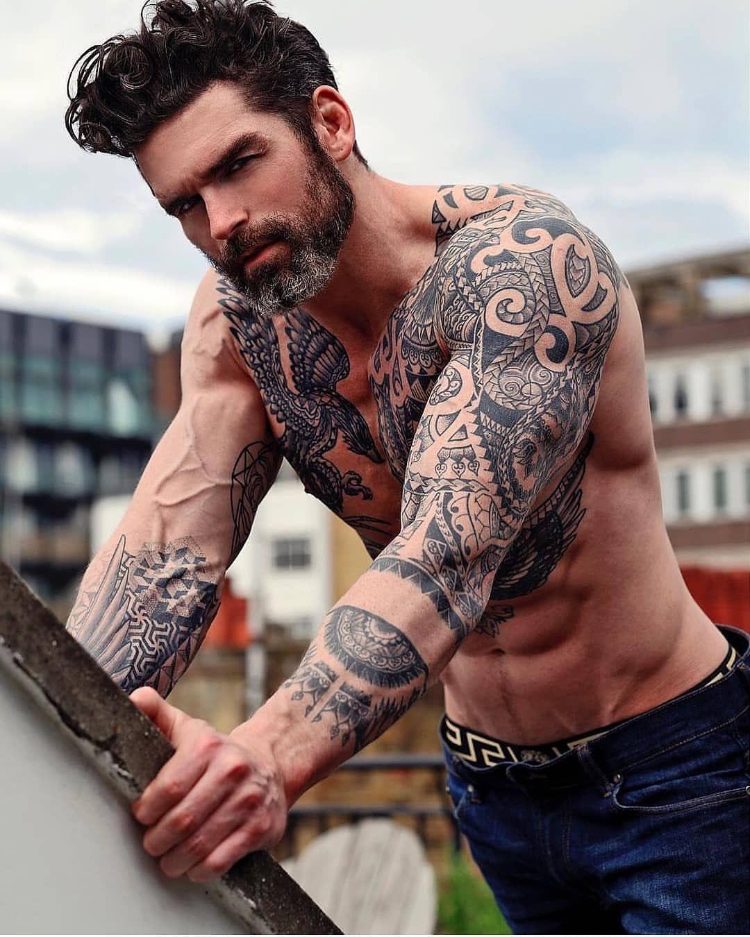 Мужские татуировки с картинками и фото
