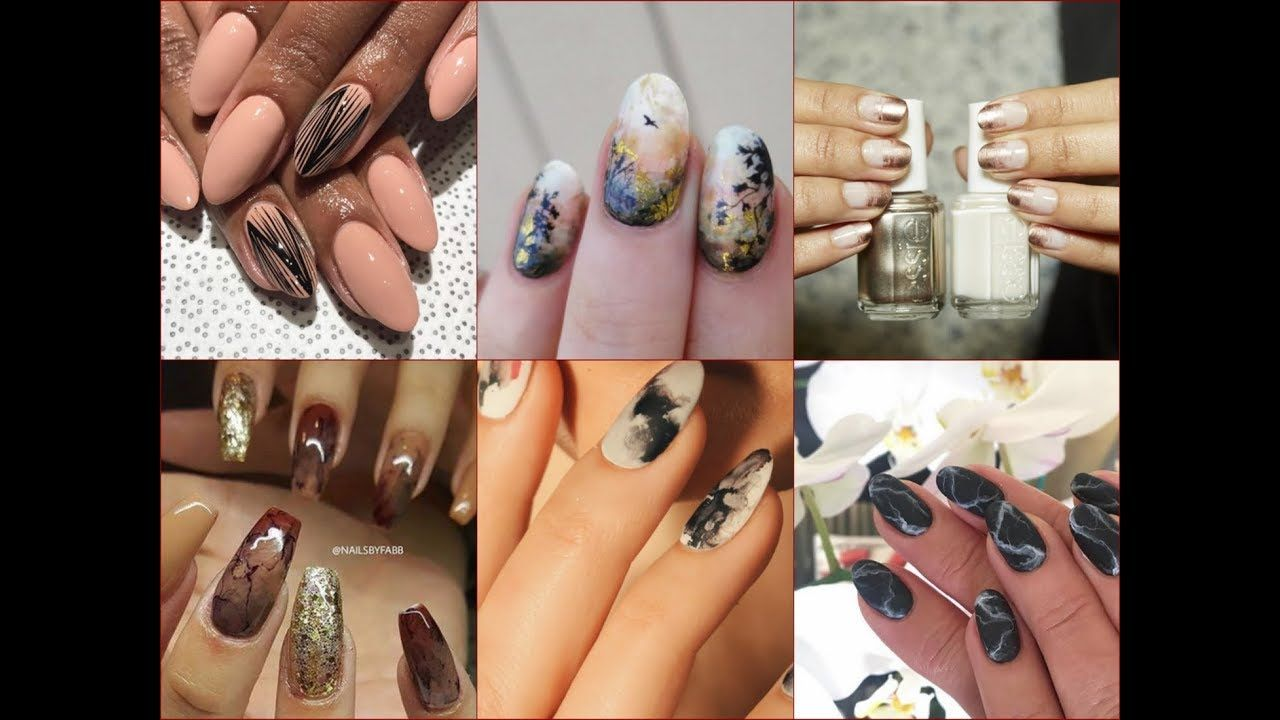 The best fall nail polish colors and nail art trends of fall 2017 ...