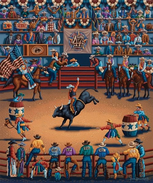 Days Of 47 Rodeo In Salt Lake City Utah By Eric Dowdle