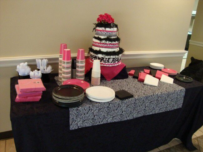 Baby Shower Setup For A Girl ~ Image from http: www.weddingandpartynetwork.com gallery photos 6916
