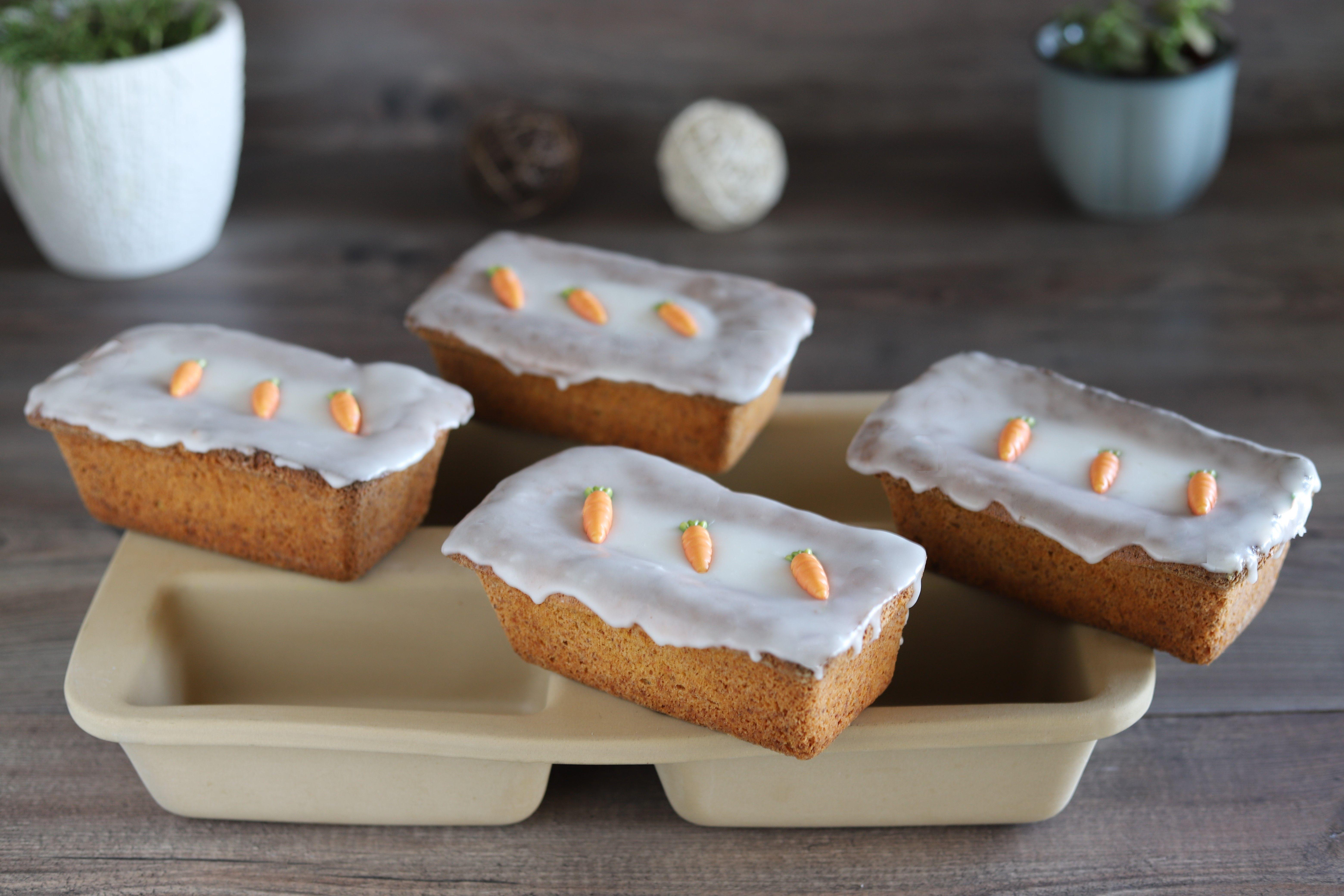 Karottenkuchlein In Der Mini Kastenform Von Pampered Chef In 2020 Kuchen Und Torten Rezepte Kuchen Und Torten Brot Selber Backen Rezept