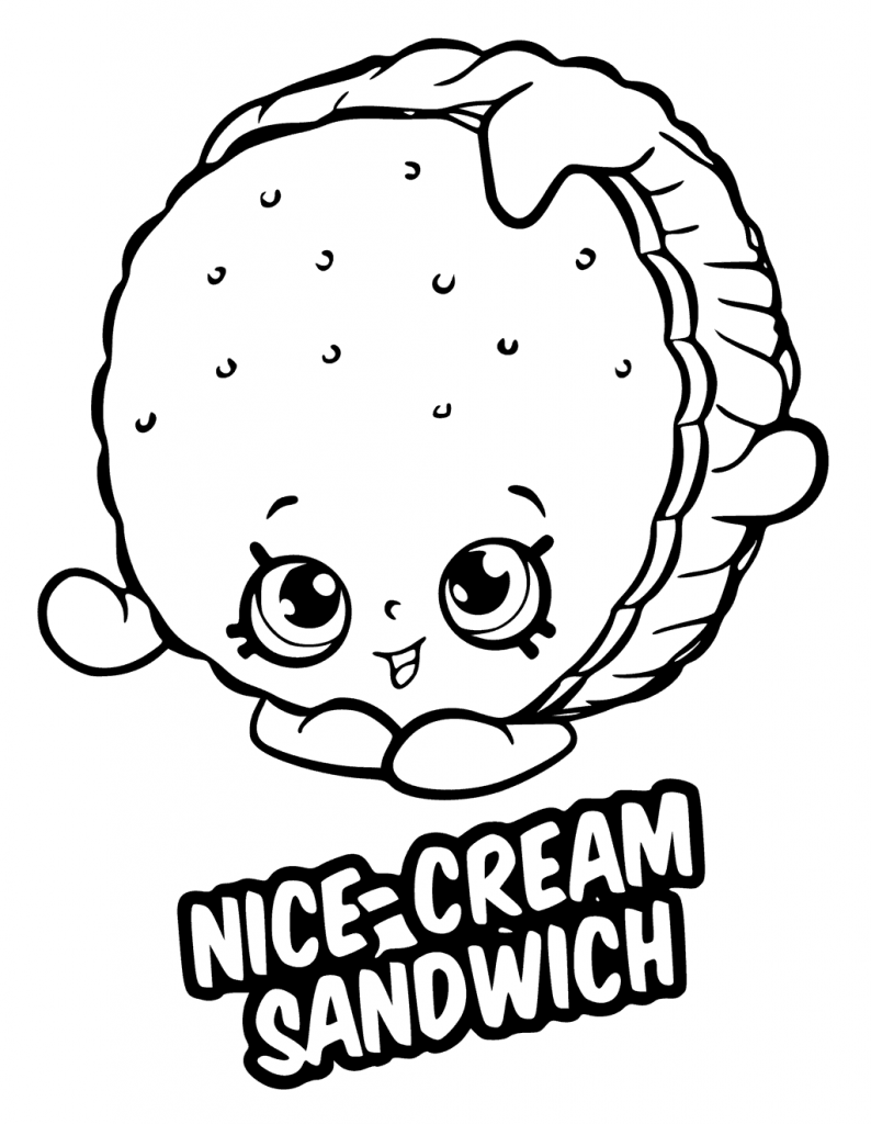 Dessert Coloring Pages Best Coloring Pages For Kids Shopkins Colouring Pages Shopkins Colouring Book Coloring Pages [ 1024 x 794 Pixel ]