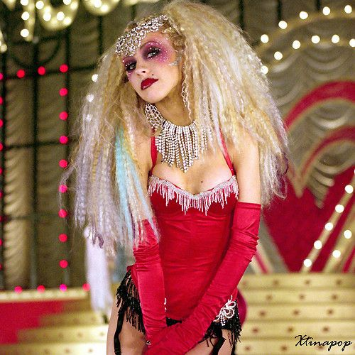 Christina Aguilera In The Moulin Rouge Video Christina Aguilera
