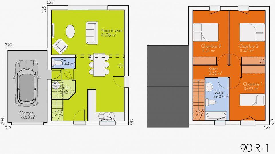 Plan Maison R 1 100m2 Elegant Awesome Plan De Maison 120m2 6 Plan Maison Etage 90m2 Of Plan Maison R 1 100m2 Be Plan Maison 120m2 Plan Maison Plan Maison Etage