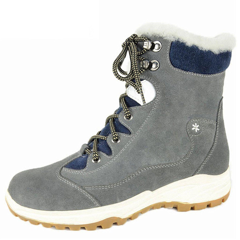 Bull Titan Women S Fur Lined Zippered Winter Comfort Snow Boot