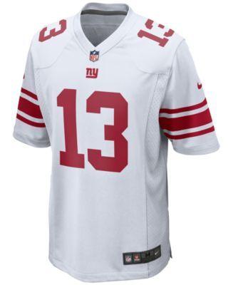 wholesale dealer 1607b f9f53 Nike Men Odell Beckham Jr. New York Giants Game Jersey ...