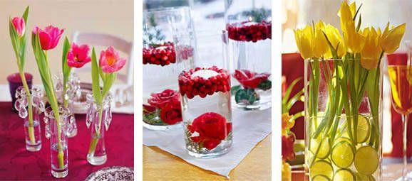 decoracion-de-bodas-sencillas-y-economicas Bodas de Oro Pinterest - bodas sencillas