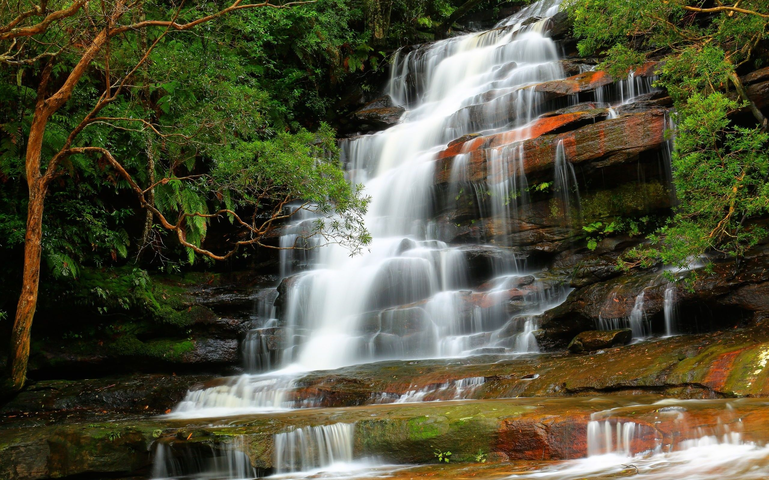 #Cool #WaterFall #Windows8 #Wallpaper