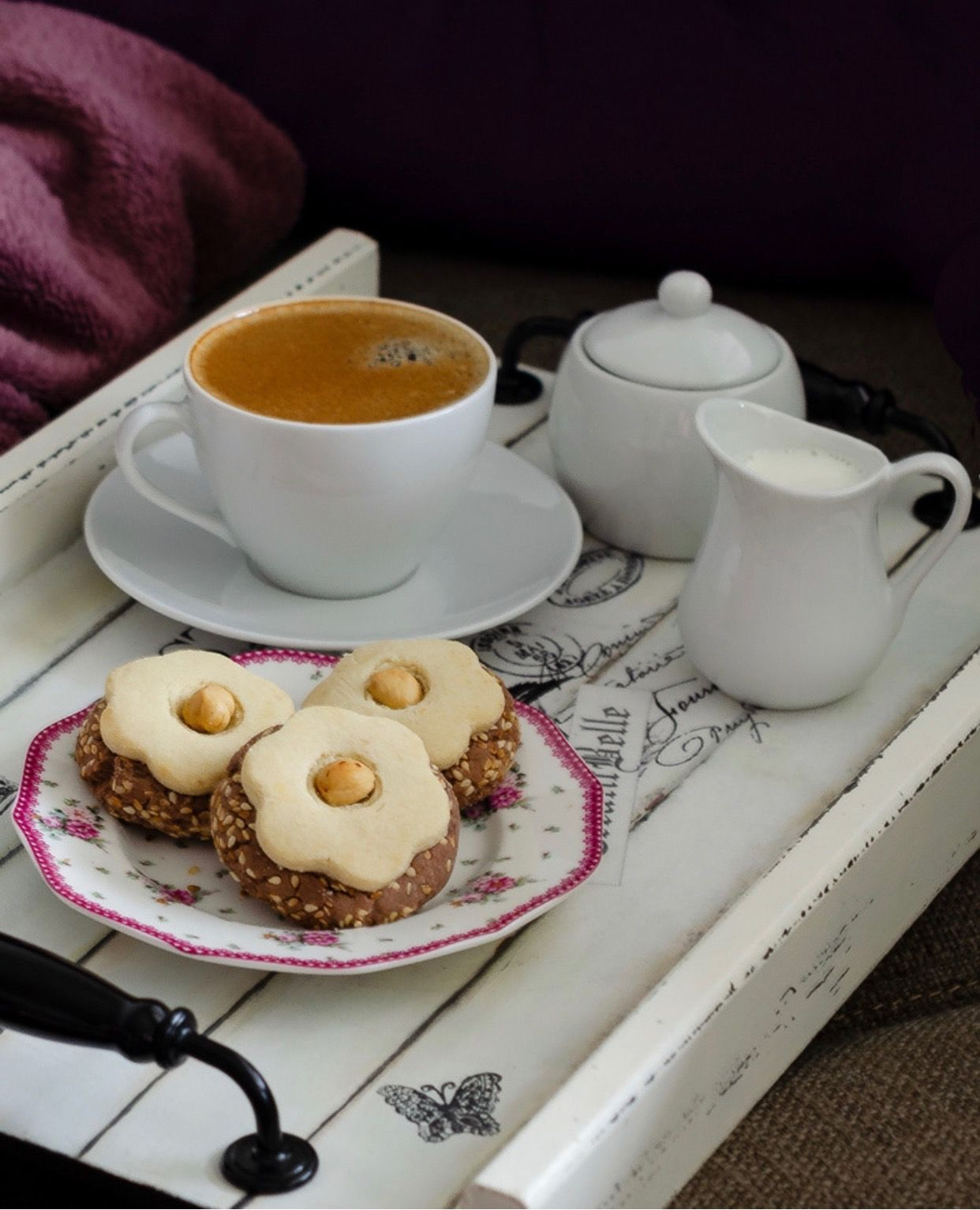 производство картинки с утренним кофе и чаем такой модификации