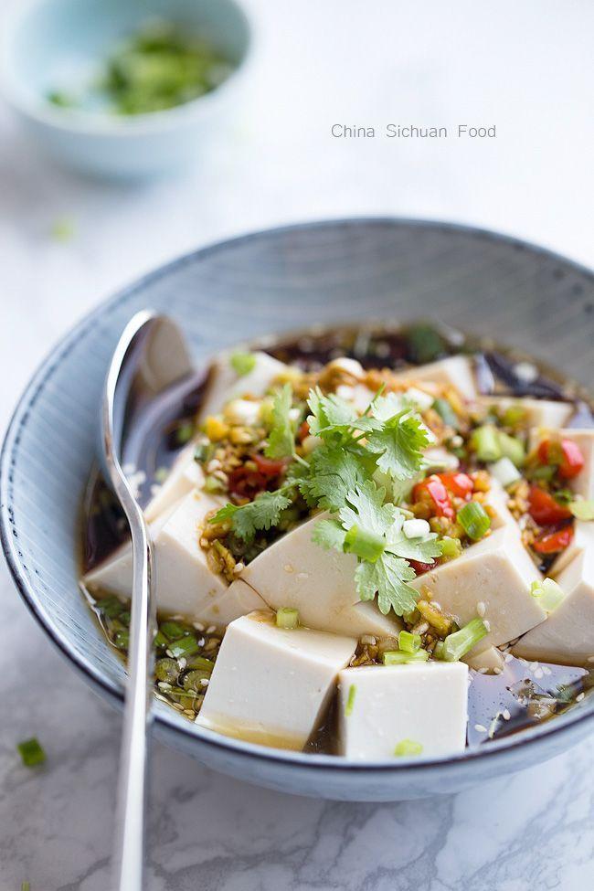 Cold Tofu Liangban Tofu