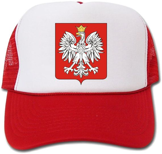 3534dee44c0 Polish Flag Coat Of Arms Crest Hat Cap by crests on Etsy