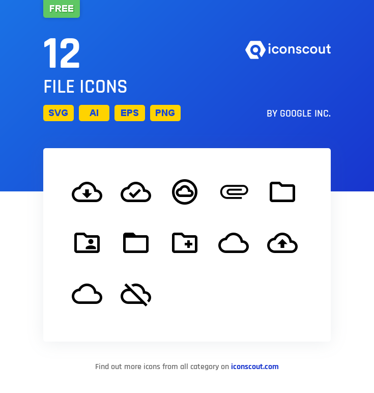 Download Download File Icon pack - Available in SVG, PNG, EPS, AI ...