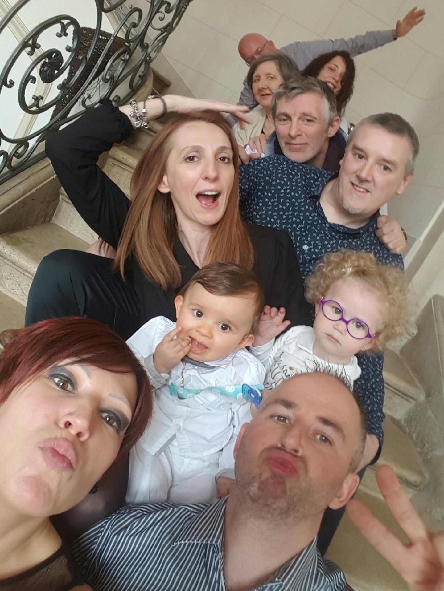 Concours Selfie de table avec BABY BOY