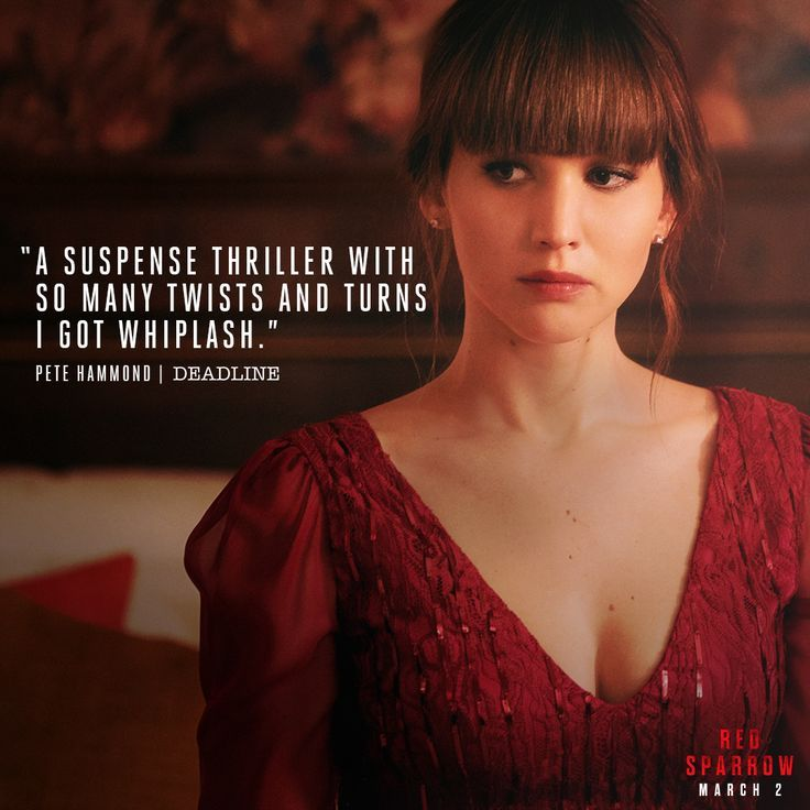 Critics are raving about red sparrow experience the