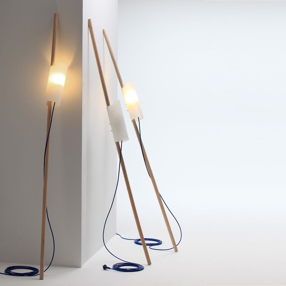 An Object Useful As A Bedside Lamp Or As A Portable Lamp Walk With To Lean It Against A Wall Or Stick It Between The Cushio Lamp Modern Floor Lamps Lamp
