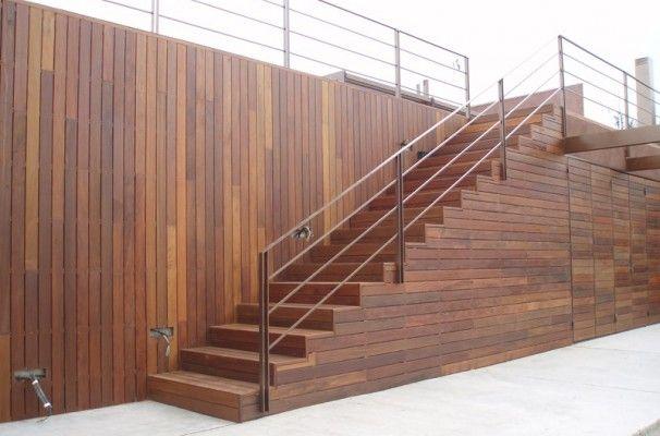 Lliçà du0027Amunt #obra #parkhouse #tarima #exteriores #escaleras PARK