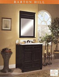 Sunnywood Barton Hill Wood Vanity Vanity Cabinet Bathroom Styling