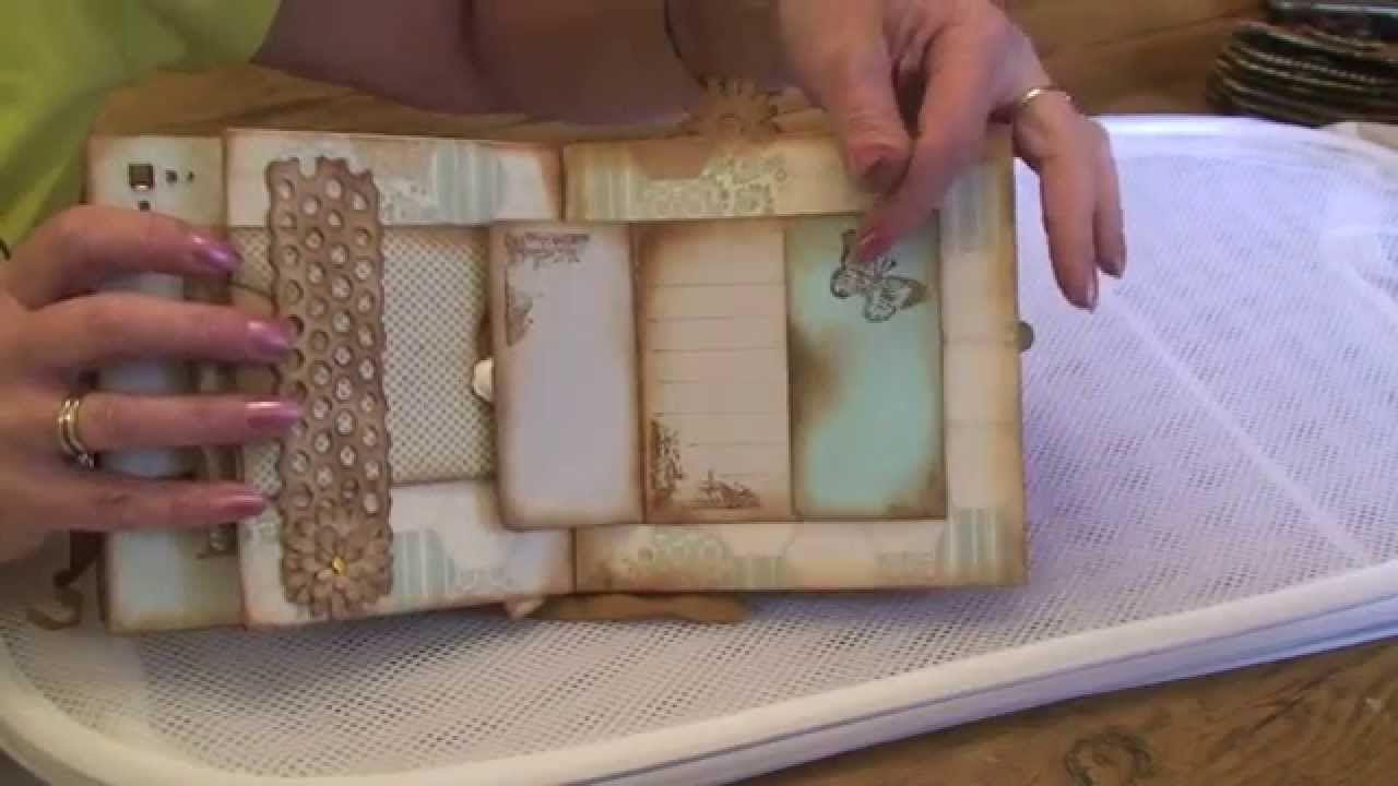 DCWV Linen Closet Mini Photo Album
