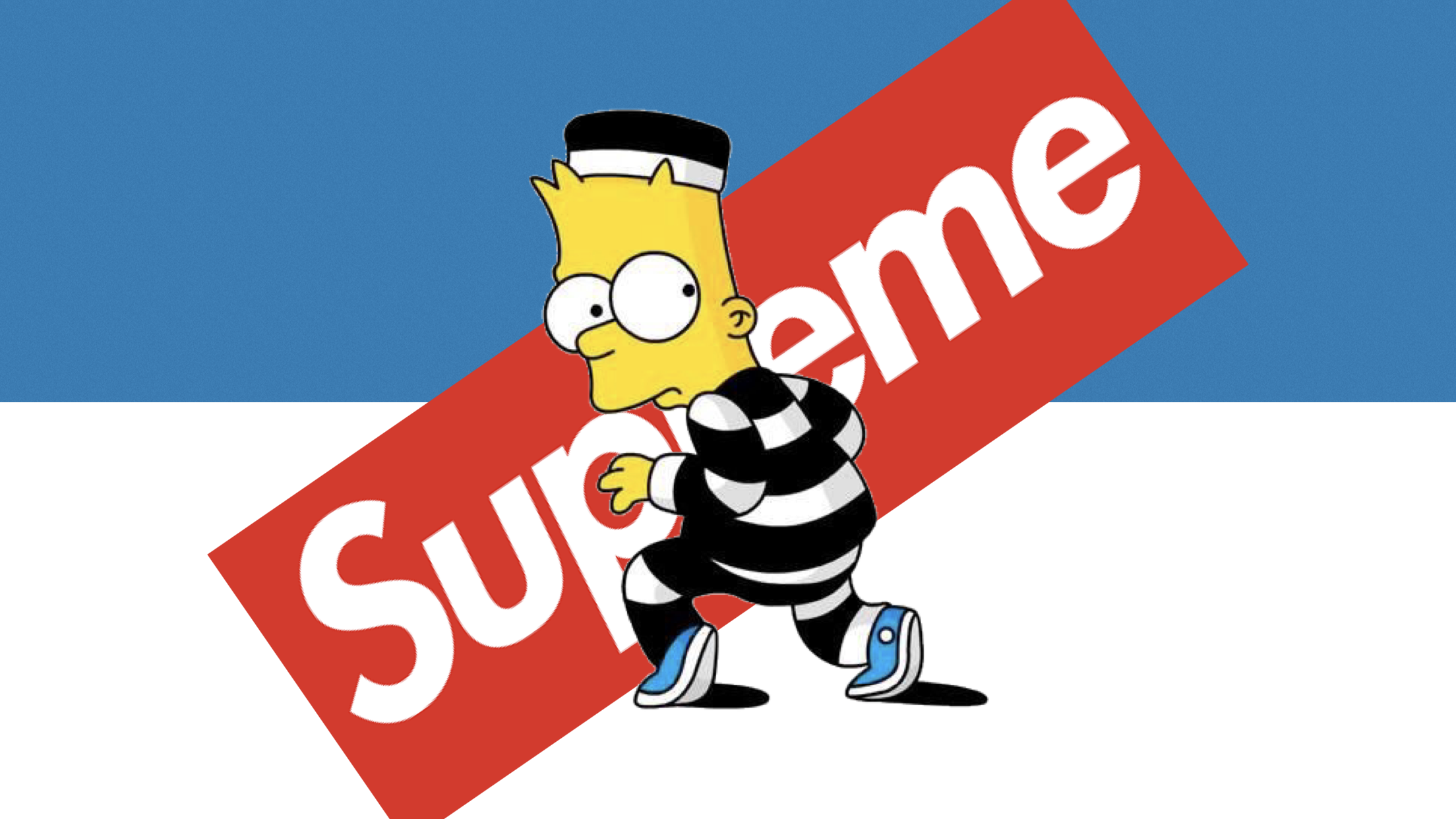 Bart Supreme Hd Wallpaper Laptop In 2019 Supreme Wallpaper