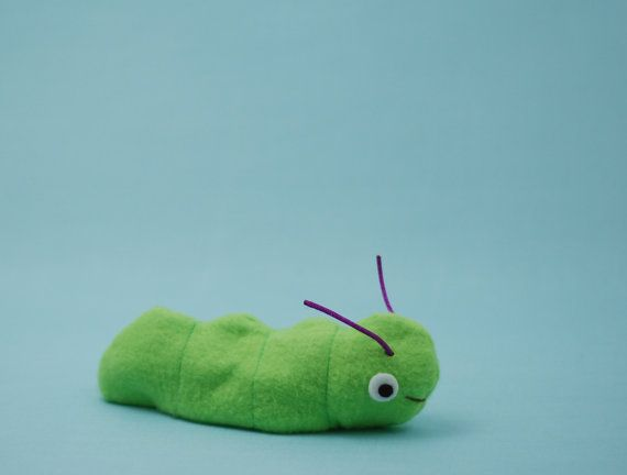 Caterpillar and Butterfly Reversible Toy - PDF Sewing Pattern ...