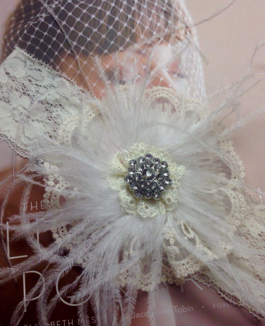 Wedding garter I made
