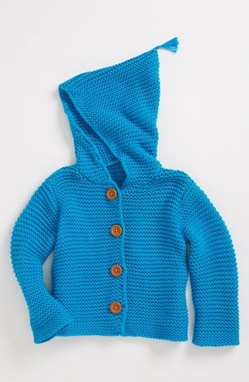 981907b8ceaf Stem Baby  Lofty  Organic Cotton Hooded Cardigan (Baby) available at ...