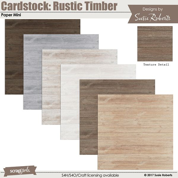 Cardstock Rustic Timber Paper Mini Wood Cardstock Rustic Wood Rustic Decor