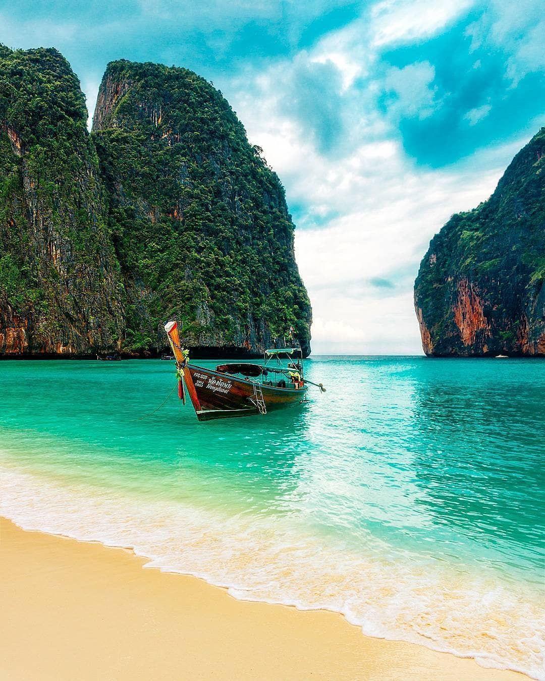 """Koh Phi Phi Leh: Thailand Gram On Instagram: """". 🌴Maya Bay, Koh Phi Phi 💙Tag"""