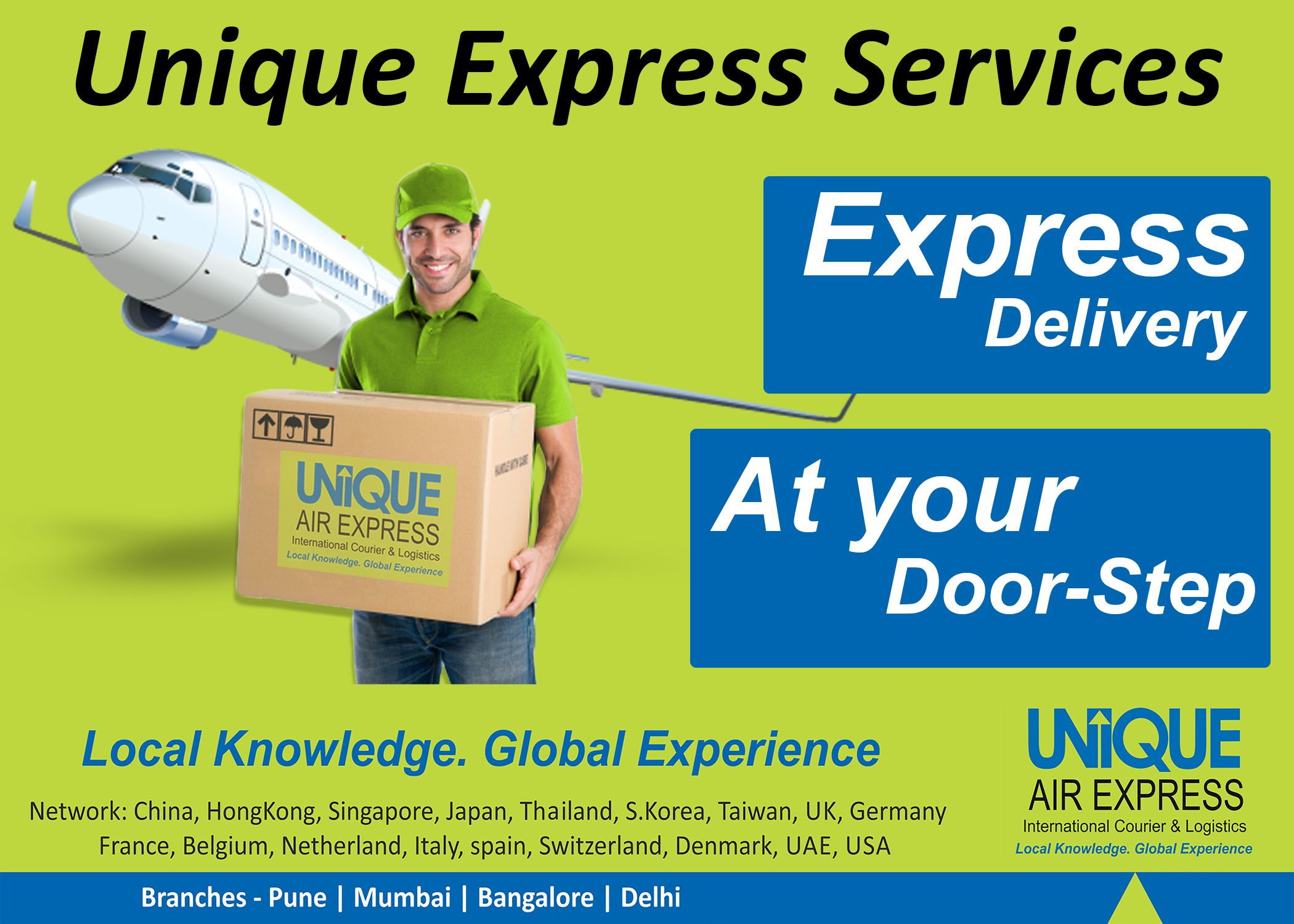 Uniqueexpressdelivery International Courier Services Ocean Freight Courier