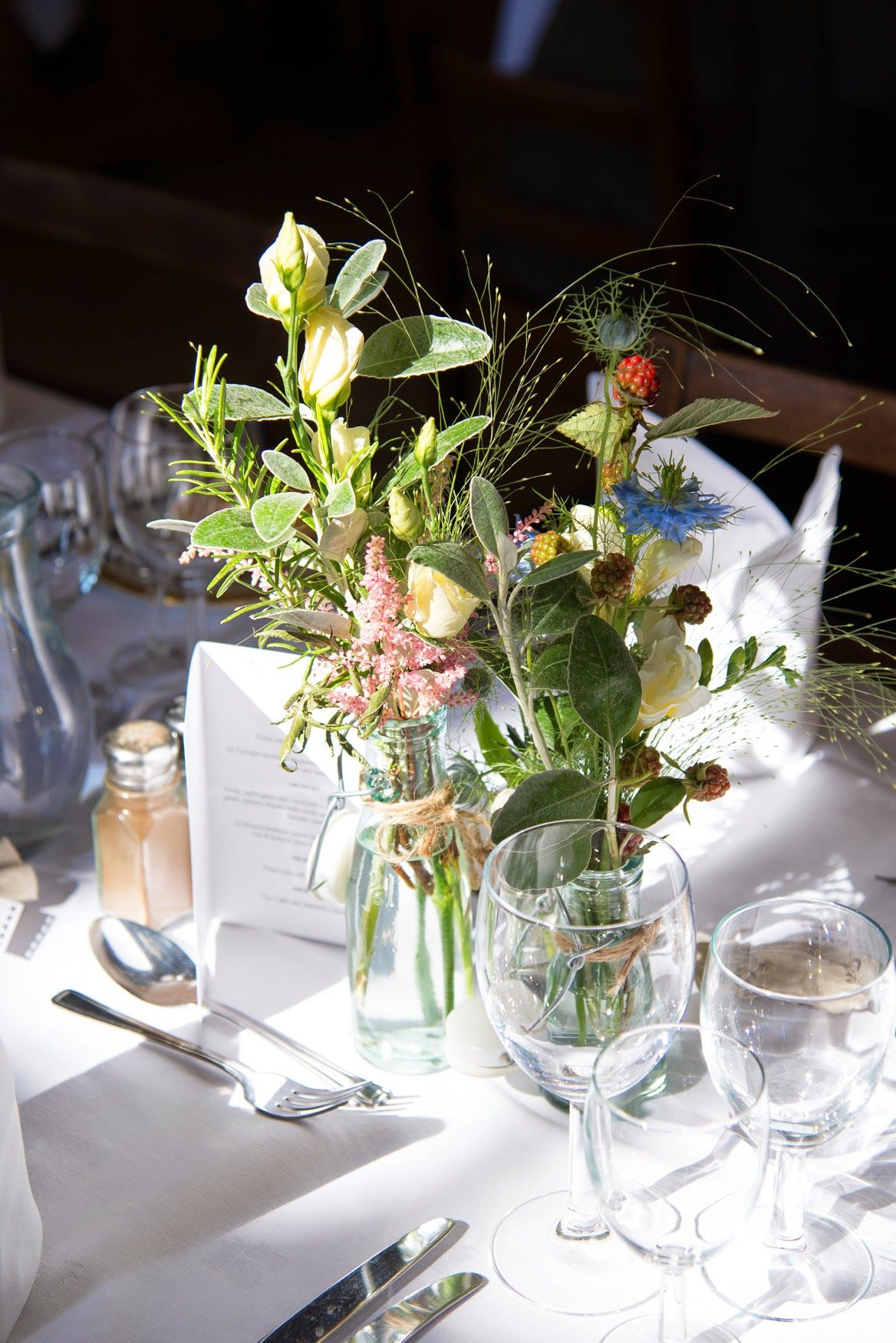 Natural wild flower table vases for that just picked look by natural wild flower table vases for that just picked look by jemini flowers izmirmasajfo