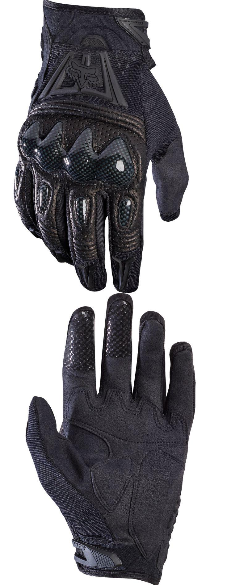 Gloves fox racing mtb mens black black bomber gravity gloves