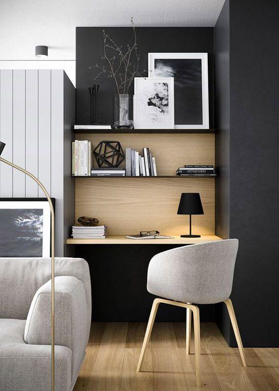 de 100 ideas de decoracin de salas pequeas modernas con fotos - Home Office Room Design